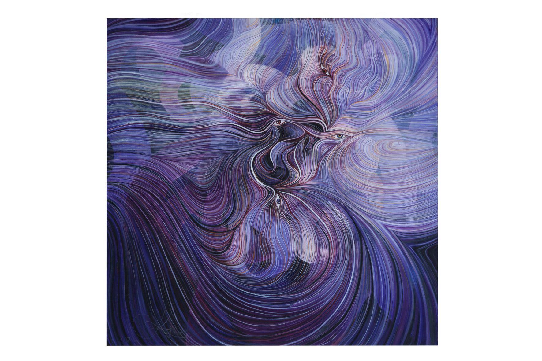 Reproduktion für: http://www.ckruesi.ch/. Gemälde: Christina Krüsi
