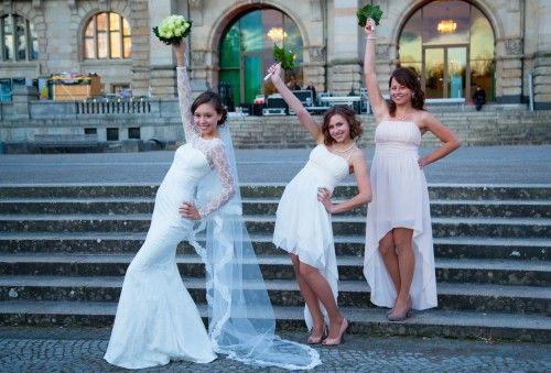 Hochzeitsfotograf Hannover | Braut & Brautjungfern