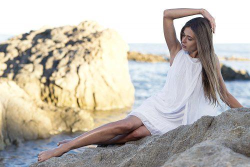 Fotoshooting auf Korsika am Meer